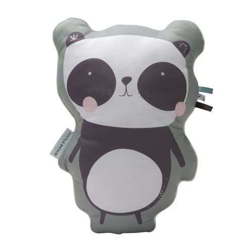 Kissen Panda mint