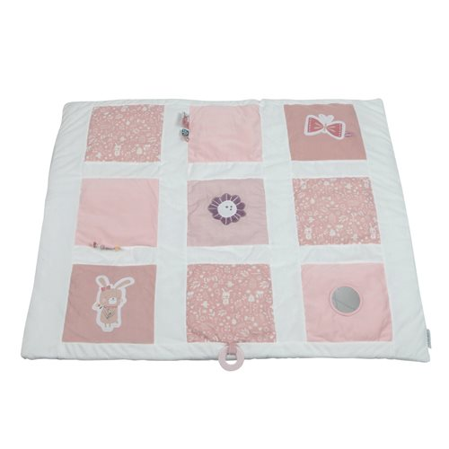 Picture of Playpen mat rabbit pink