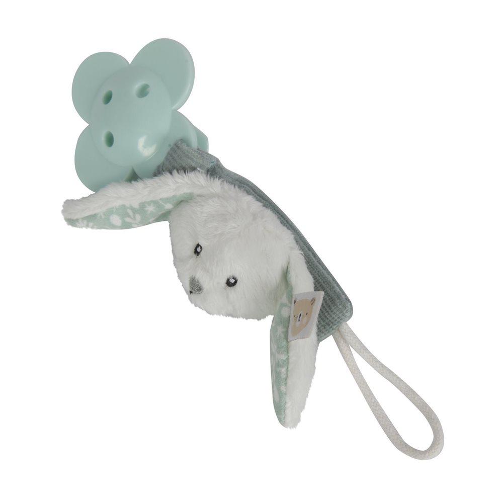 Afbeelding van Speenketting konijn mint
