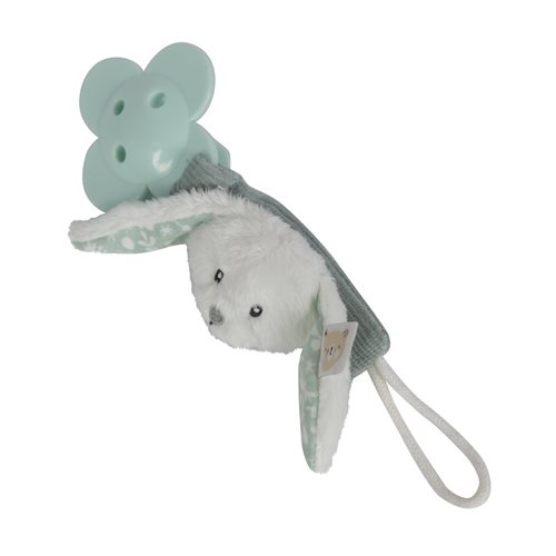 Picture of Pacifier clip rabbit mint
