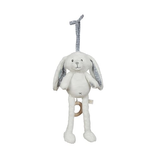 Picture of Music box rabbit blue