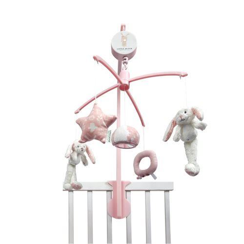 Picture of Music mobile rabbit pink