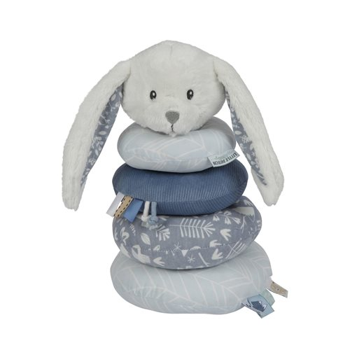 Picture of Rabbit ring stacker soft blue