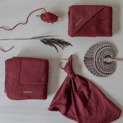 Wickelauflagenbezug Pure Indian Red