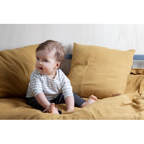 Picture of Bassinet blanket cover 80x80 Pure Ochre