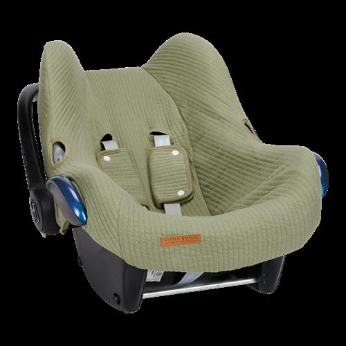 Housse de protection pour siège-auto 0+ Pure Olive