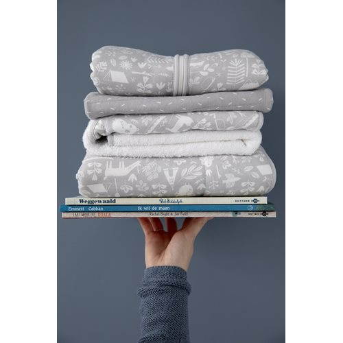 Picture of Single duvet cover Germany Adventure Grey