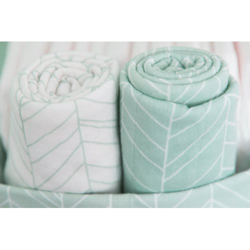 Picture of Swaddle 120 x 120 Mint Leaves