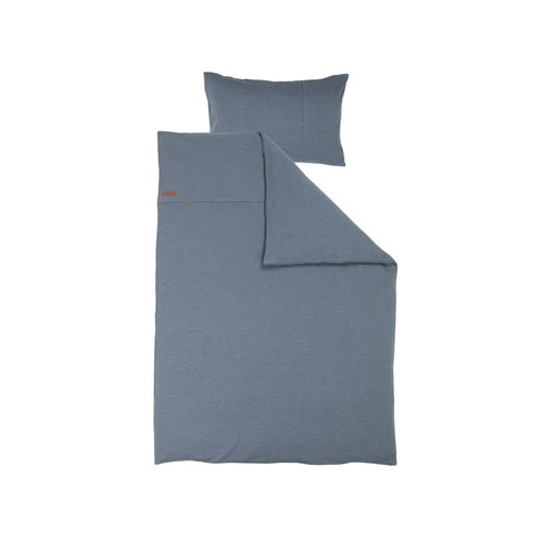 Picture of Cot blanket cover Pure Blue