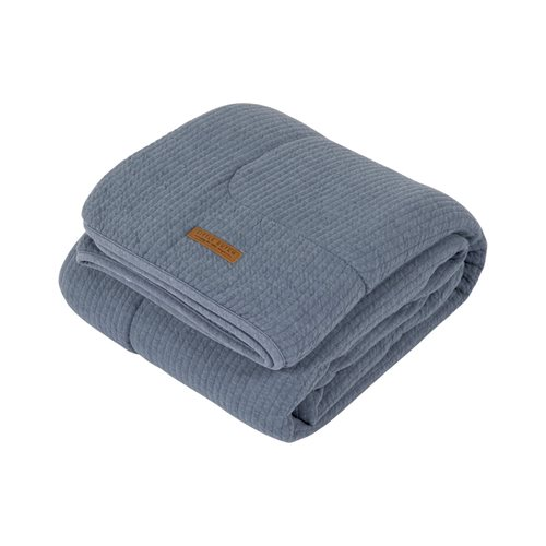 Picture of Cot blanket Pure & soft Pure Blue