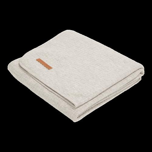 Couverture d'été pour lit bébé Pure Grey