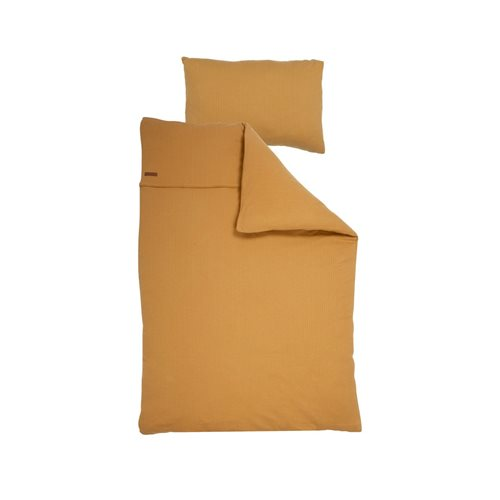 Picture of Cot duvet cover Pure Ochre