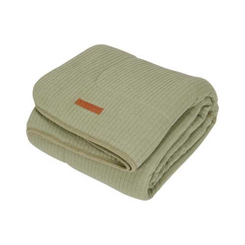 Picture of Cot blanket Pure & soft Pure Olive