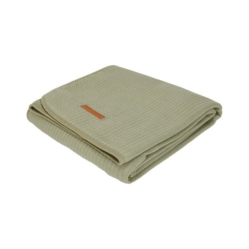 Picture of Cot summer blanket Pure Olive