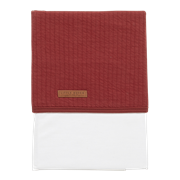 Picture of Cot sheet Pure Indian Red