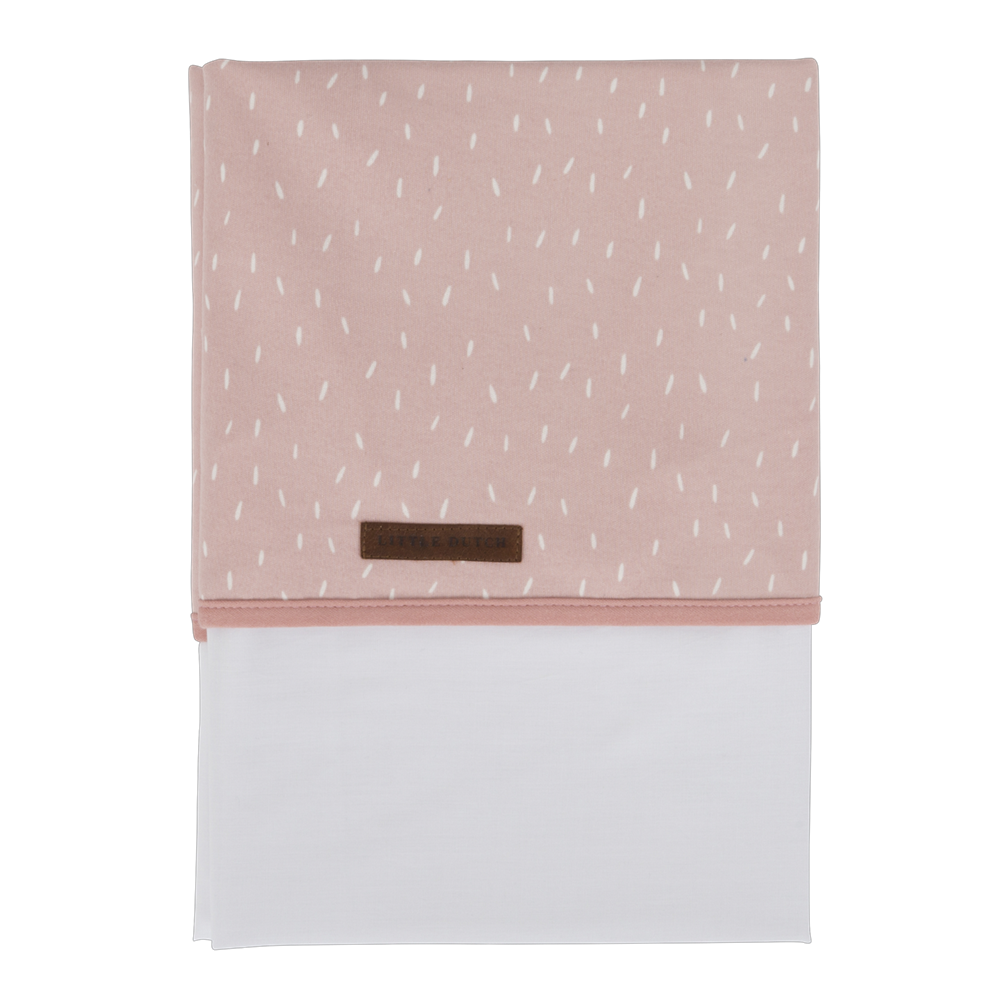 Drap de lit bébé Pink Sprinkles