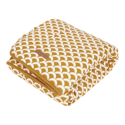 Picture of Cot blanket Sunrise Ochre