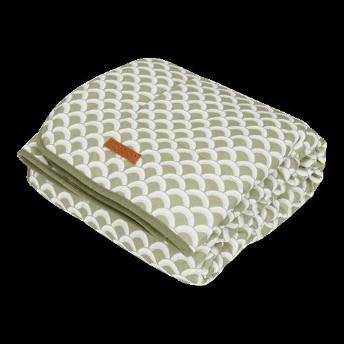 Couverture de lit bébé Sunrise Olive