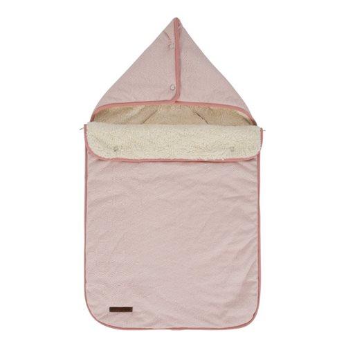 Babyschalen-Fußsack 0+ Pink Waves