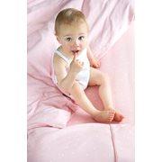 Afbeelding van Eenpersoonsdekbedovertrek Little Stars Pink