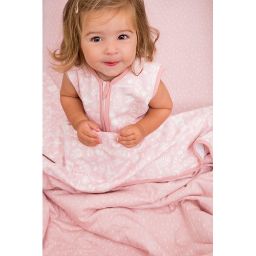 Picture of Summer sleeping bag 90 cm Adventure Pink