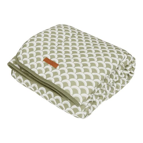 Picture of Bassinet blanket Sunrise Olive