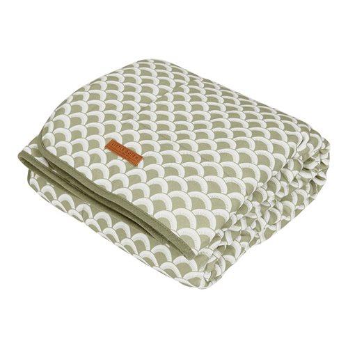 Picture of Bassinet blanket Pure & soft Sunrise Olive