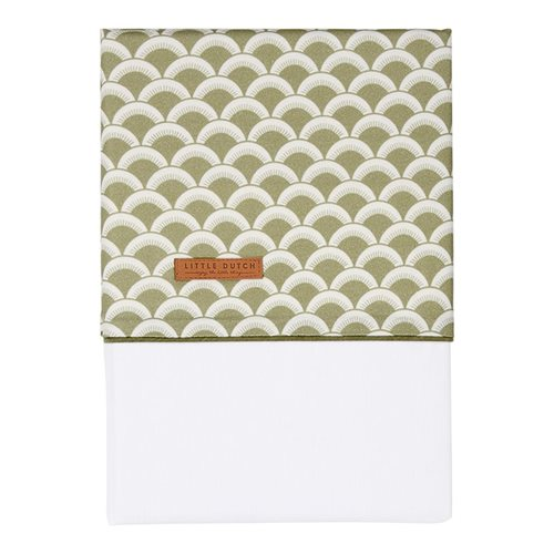 Picture of Cot sheet Sunrise Olive