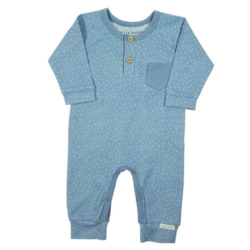 Picture of Baby Jumpsuit Sprinkles Blue 74