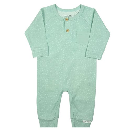 Picture of Baby Jumpsuit Sprinkles Mint 62
