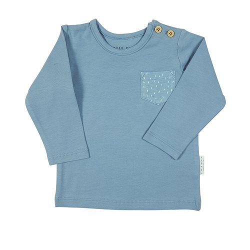 Baby T-Shirt langen Ärmeln 56 - Blue Sprinkles