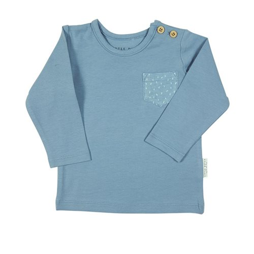 Picture of Baby T-Shirt long sleeves 56 - Blue Sprinkles