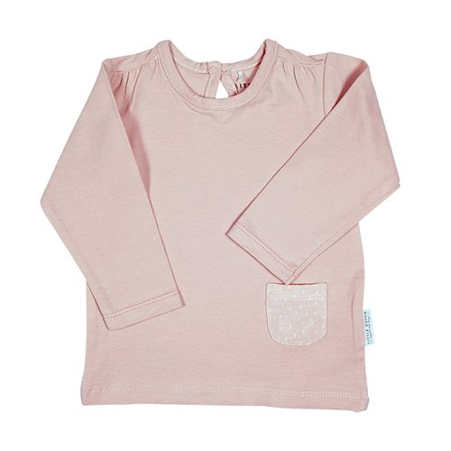 Picture of Baby Shirt long sleeves Sprinkles Pink 74
