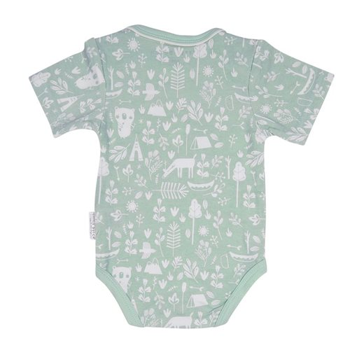 Picture of Baby bodysuit short sleeves 74/80 - Adventure Mint
