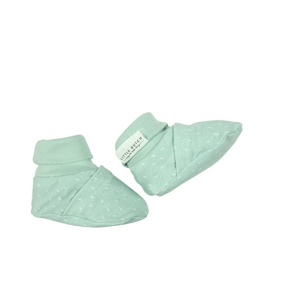 Picture of Baby booties 15/16, Mint Sprinkles