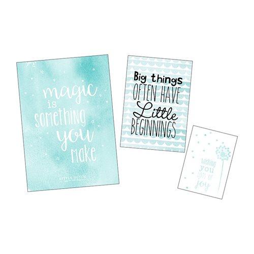 Afbeelding van Poster en kaarten mint, set van 3