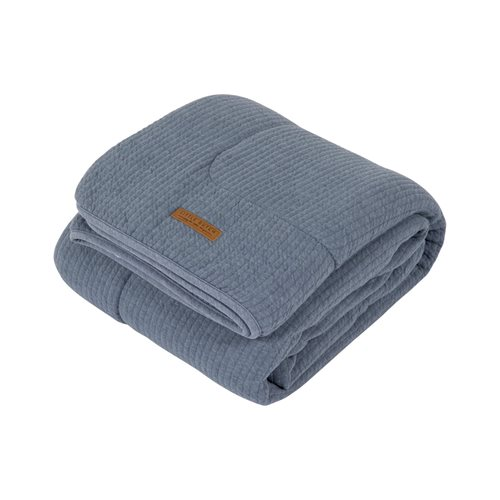 Picture of Bassinet blanket Pure & soft Pure Blue