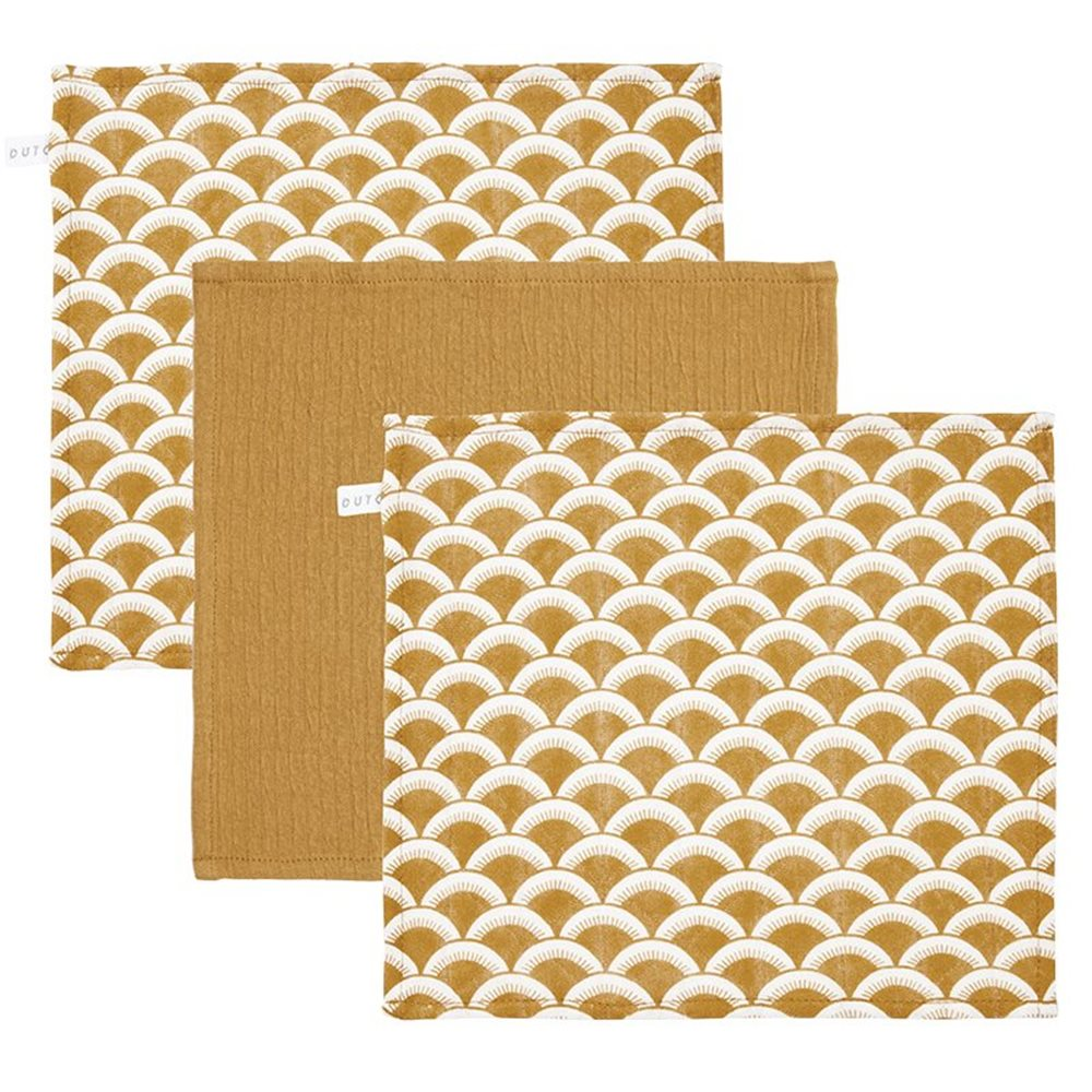 Picture of Facecloths Sunrise Ochre / Pure Ochre