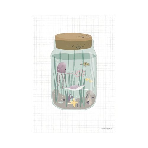 Picture of Poster Mini Ocean Jar