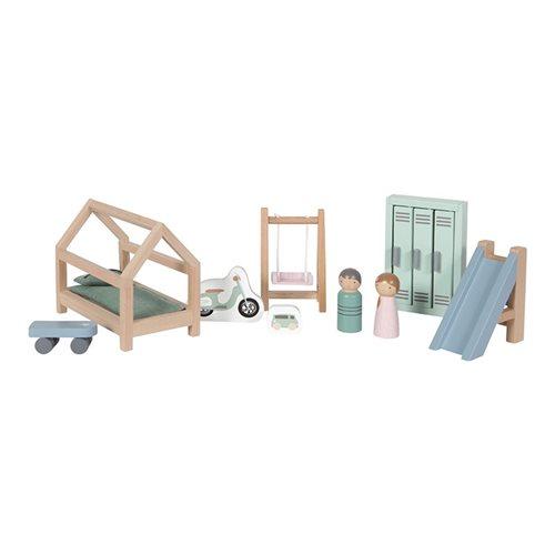 Afbeelding van Poppenhuis speelset Kinderkamer