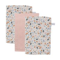 Picture of Washcloths set Pure Pink / Spring Flowers