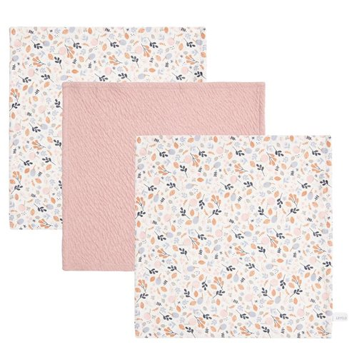 Afbeelding van Monddoekjes Pure Pink / Spring Flowers