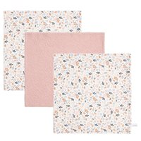 Picture of Facecloths Pure Pink / Spring Flowers