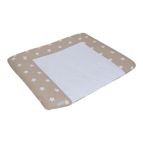 Picture of Changing mat cover Germany beige with white stars