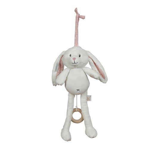 Afbeelding van Muziekdoos konijn pink
