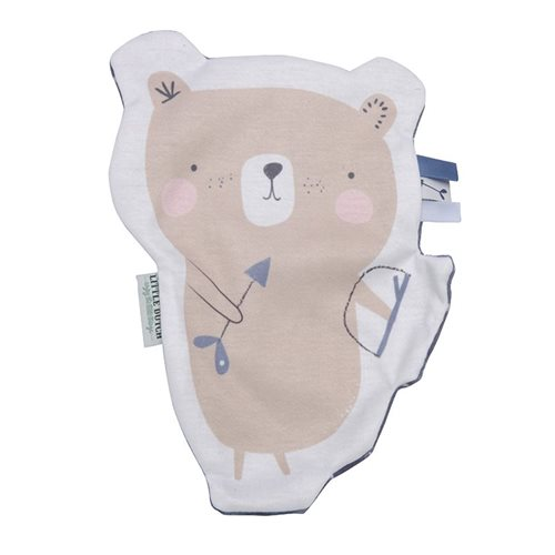 Picture of Crinkle cuddle cloth bear blue