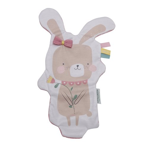 Picture of Crinkle cuddle cloth bunny pink
