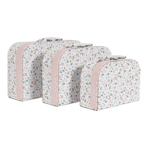 Koffer-Set für Kinder Spring Flowers - set von 3