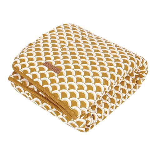 Picture of Bassinet blanket Sunrise Ochre