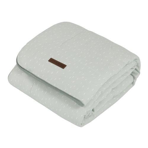 Picture of Bassinet blanket Mint Sprinkles